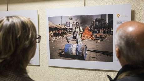 Inauguran en Madrid la exposición de los premiados del Concurso Internacional de Fotoperiodismo Andréi Stenin