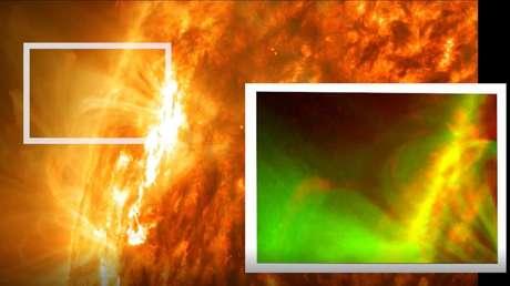 La NASA detecta en el Sol una explosión magnética nunca antes vista