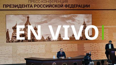 Vladímir Putin ofrece su gran rueda de prensa anual