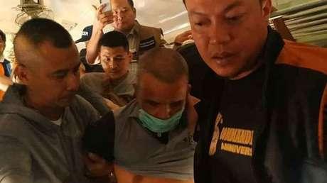 VIDEO: Atrapan al 'Jack el Destripador' tailandés después que volvió a matar tras ser excarcelado