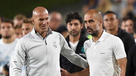 """Zidane: """"El mejor entrenador del mundo es Pep Guardiola"""""""