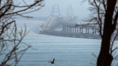 Se completa la 'obra del siglo': el puente de Crimea abre al tráfico ferroviario (EN VIVO)