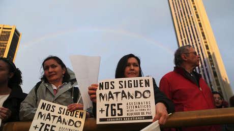 Gobierno colombiano dice que disminuyeron en un 25 % los asesinatos a líderes sociales, ¿qué de cierto hay en esta cifra?