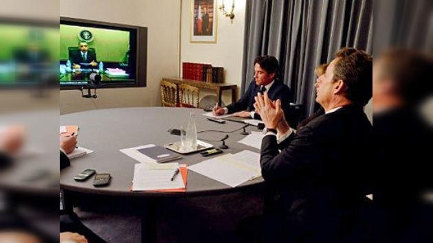Obama y Sarkozy acuerdan seguir la misma línea: presionar a Siria e Irán