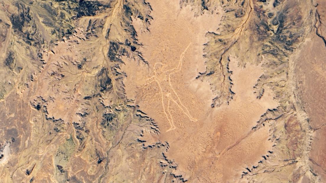 La NASA capta un misterioso geoglifo australiano de 3,5 km de largo