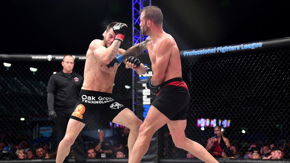 VIDEO: Luchador argentino se corona campeón de MMA tras derrotar a su rival por nocaut en el primer asalto y gana un millón de dólares