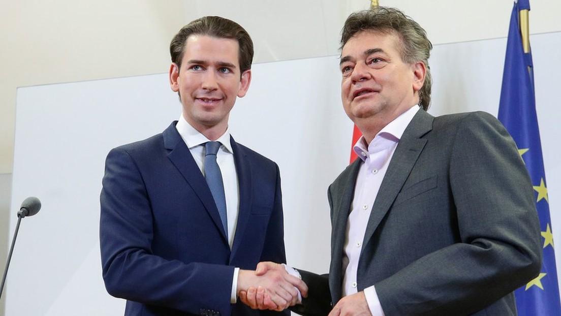 Kurz volverá al poder en un histórico acuerdo de coalición que llevará a Los Verdes al Gobierno de Austria por primera vez