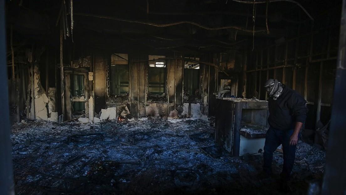 FOTOS: Así quedó la Embajada de EE.UU. en Irak tras ser asaltada por numerosos manifestantes