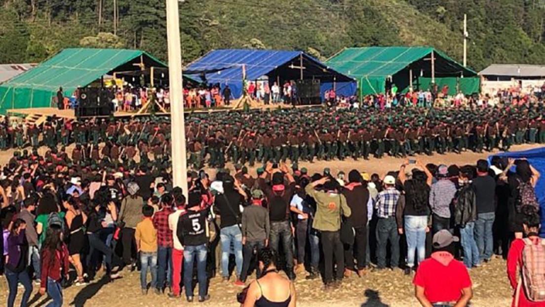 """Zapatistas en México se opondrán al Tren Maya de López Obrador porque """"desprecia a los pueblos originarios"""""""