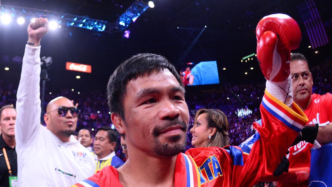 El legendario filipino Manny Pacquiao se convierte en el único boxeador que ha poseído títulos mundiales en 4 décadas