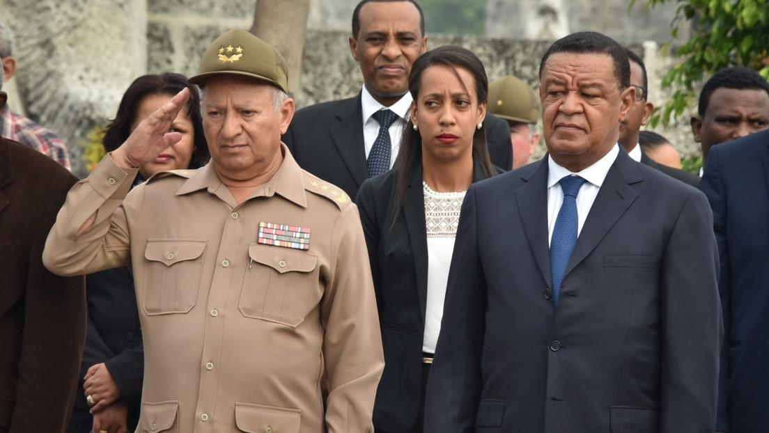 EE.UU. sanciona a Leopoldo Cintra Frías, ministro de las Fuerzas Armadas de Cuba