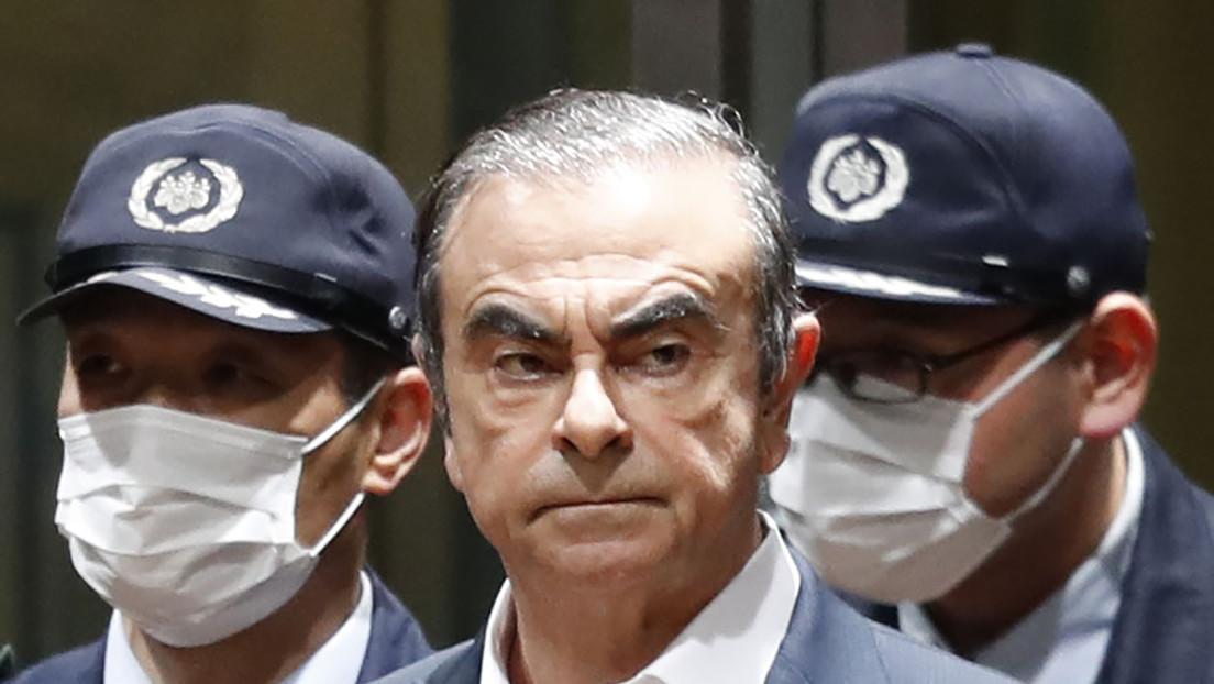 ¿Escondido en un estuche de instrumentos y con doble pasaporte francés?: lo que se sabe de la intrigante fuga del exjefe de Nissan de Japón
