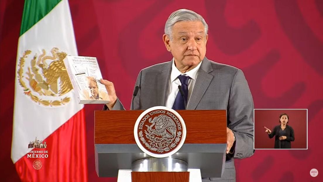 """""""Mostró cómo funciona el mundo en su naturaleza autoritaria"""": López Obrador pide la liberación de Assange para que """"no se le siga torturando"""""""