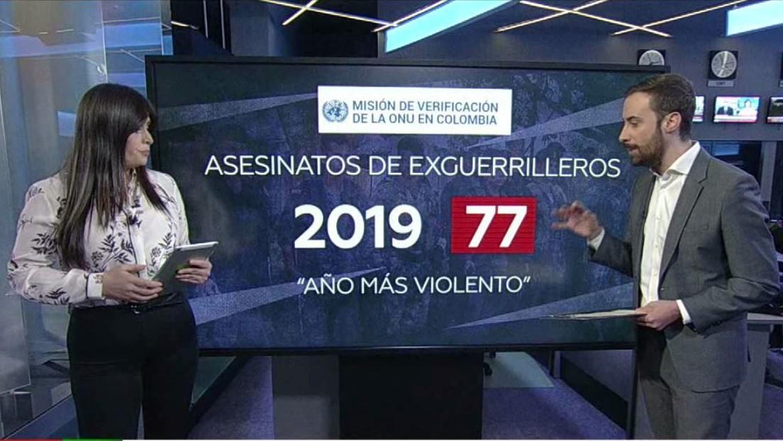 La ONU alerta del creciente número de muertes de excombatientes de las FARC