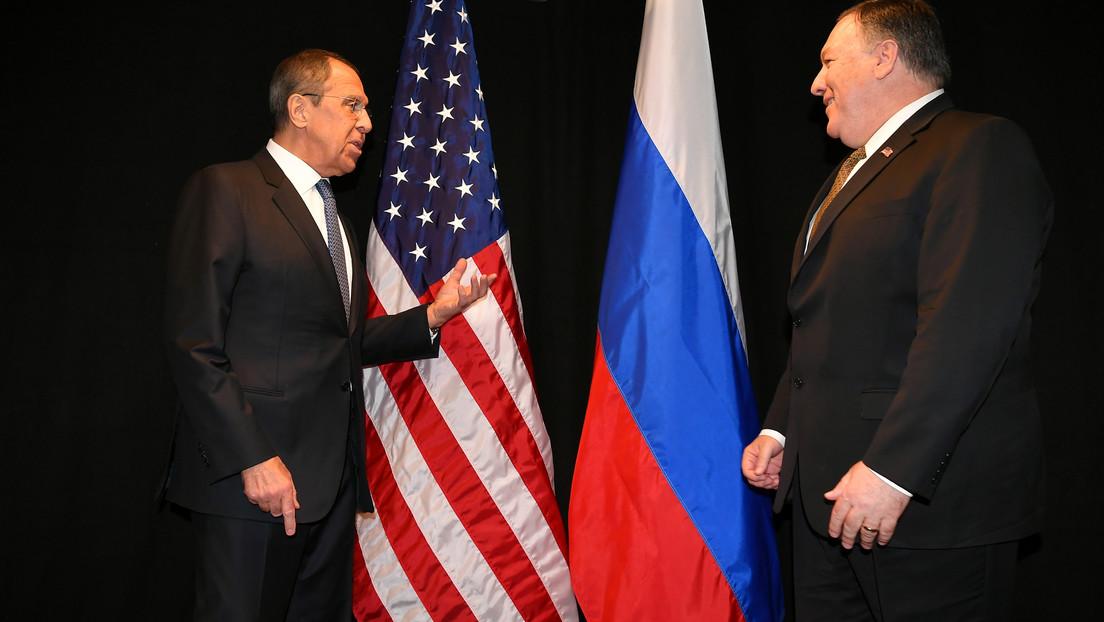 """Lavrov insta a EE.UU. a renunciar a los """"métodos de fuerza ilegales"""" para lograr sus objetivos en la arena internacional tras su ataque en Bagdad"""