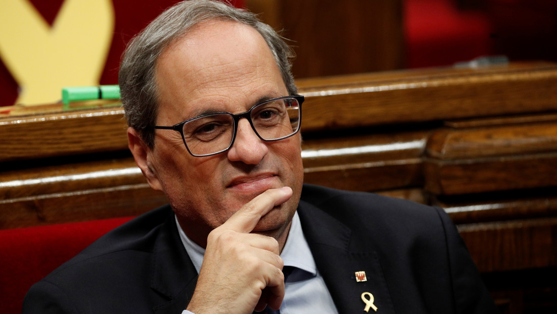 La Junta Electoral Central de España inhabilita a Quim Torra como presidente de Cataluña