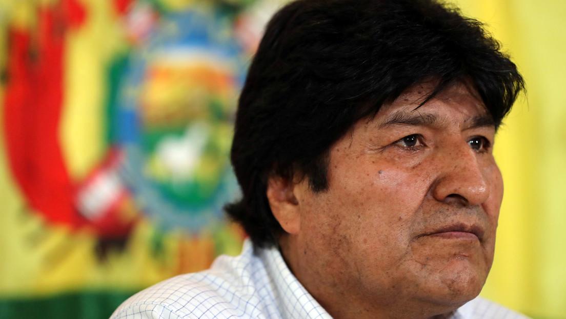 """Evo Morales critica al Gobierno 'de facto' boliviano por mostrar su """"verdadero rostro"""" sacando del aire a medios y encarcelando periodistas"""
