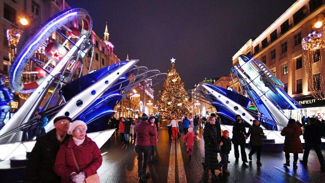 El festival de Moscú 'Viaje a la Navidad' recuerda hitos de la cosmonáutica