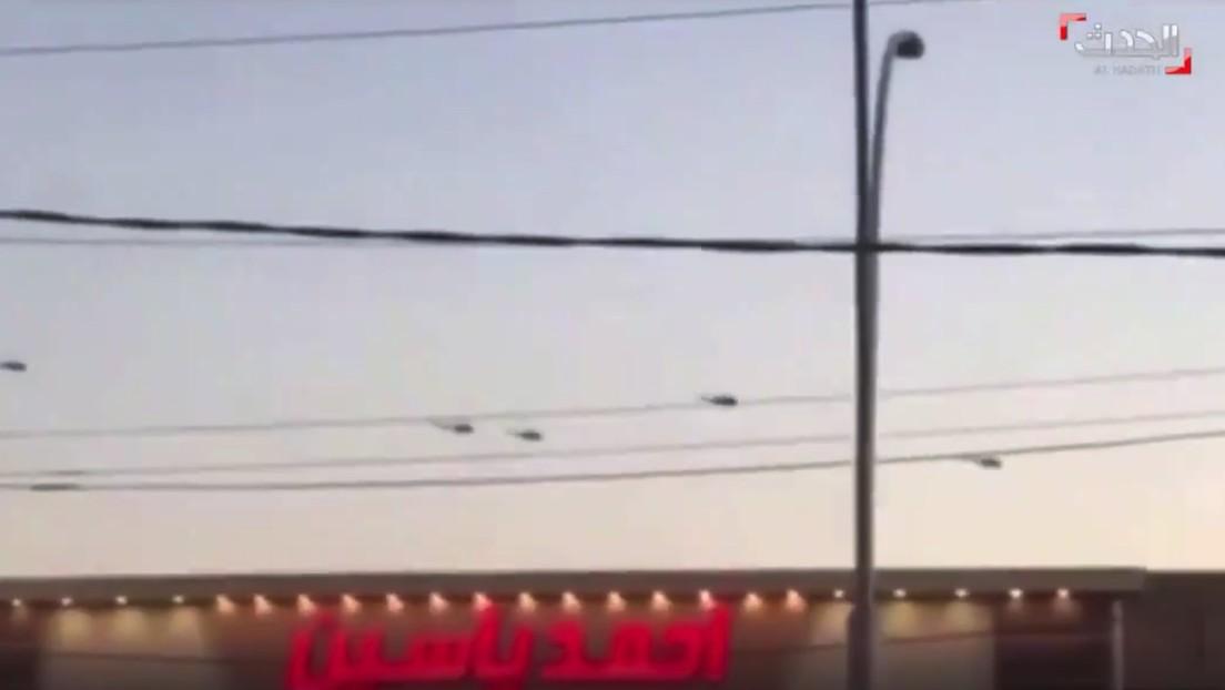 PRIMERAS IMÁGENES: Consecuencias del ataque con misiles en la Zona Verde donde se ubica la embajada de EE.UU. en Bagdad