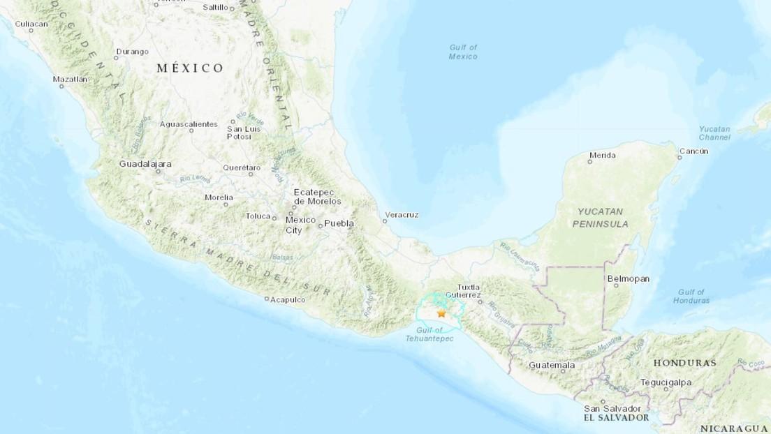 Un sismo de magnitud 6,0 sacude el sur de México