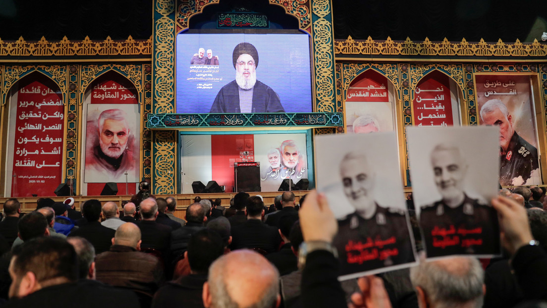 El líder de Hezbolá asegura que los soldados de EE.UU. volverán a casa en ataúdes