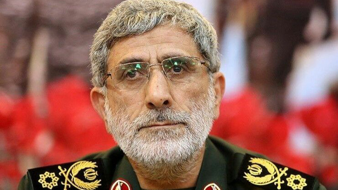 El nuevo jefe de la Fuerza Quds aspira a expulsar a EE.UU. de la región