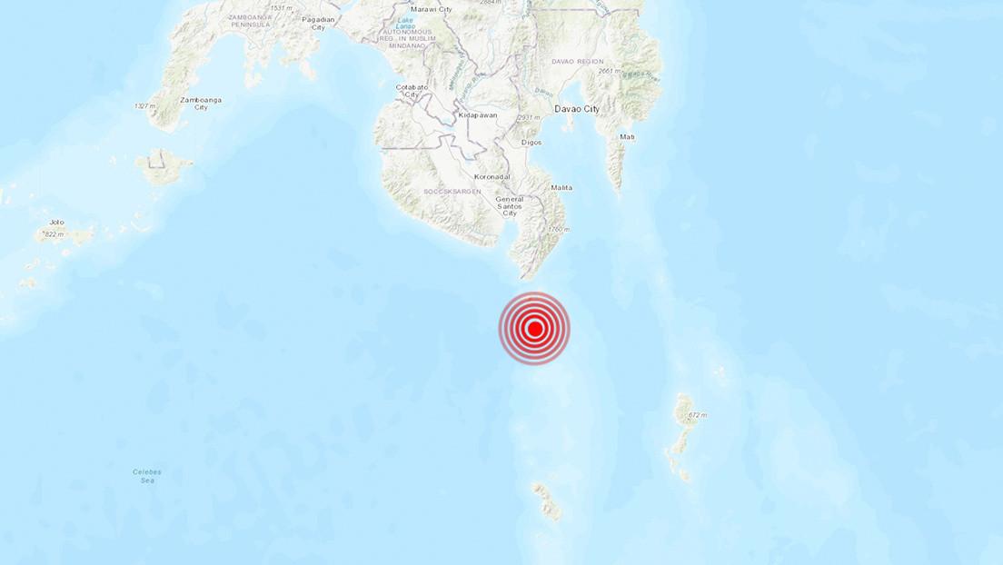 Un sismo de magnitud 5,2 sacude el sur de Filipinas