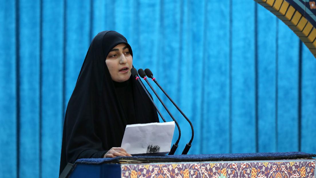 """La hija de Soleimani advierte al """"loco Trump"""" que el martirio de su padre traerá un """"día oscuro"""" a  EE.UU."""