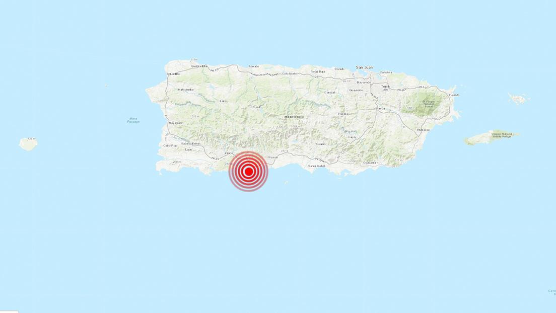 Puerto Rico registra un nuevo terremoto de magnitud 5,1