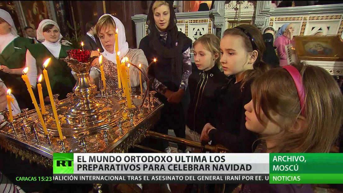 El mundo ortodoxo ultima los preparativos para celebrar la Navidad