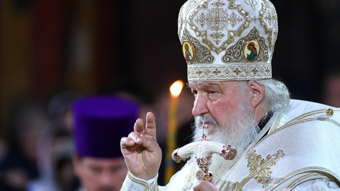 VIDEO: El patriarca ruso Kiril oficia la misa de la Navidad ortodoxa