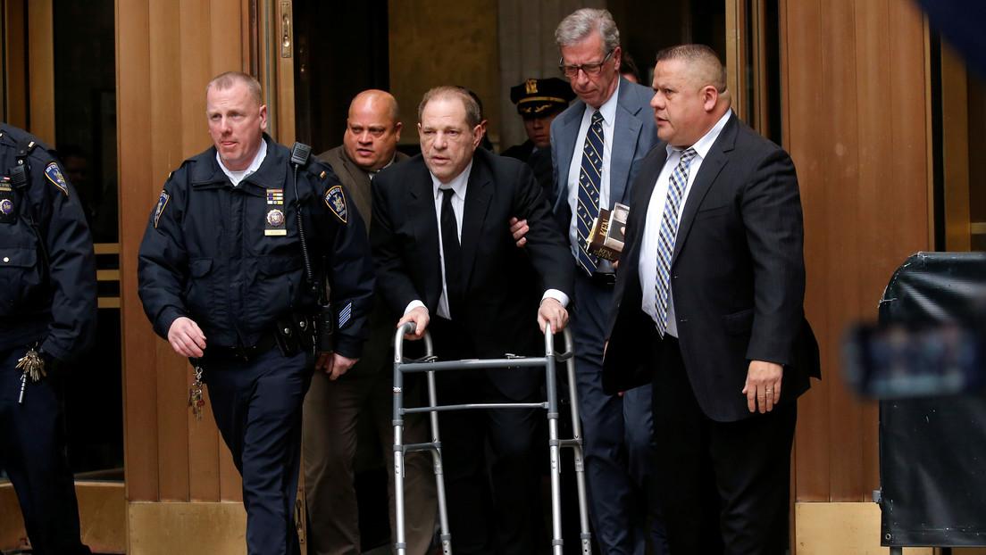 Presentan nuevos cargos por delitos sexuales contra el productor Harvey Weinstein