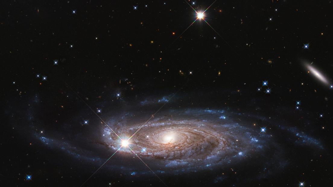 """La NASA capta una """"galaxia Godzilla"""" con un agujero negro supermasivo en su centro (FOTO)"""