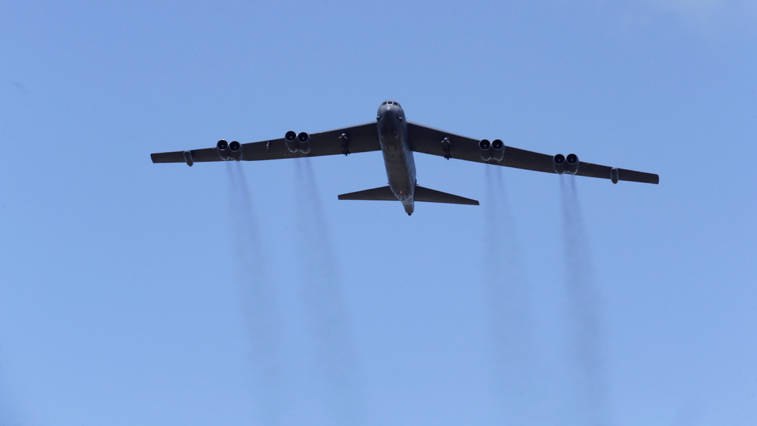Reportan el despliegue por EE.UU. de seis bombarderos B-52 en el océano Índico en medio de la crisis con Irán