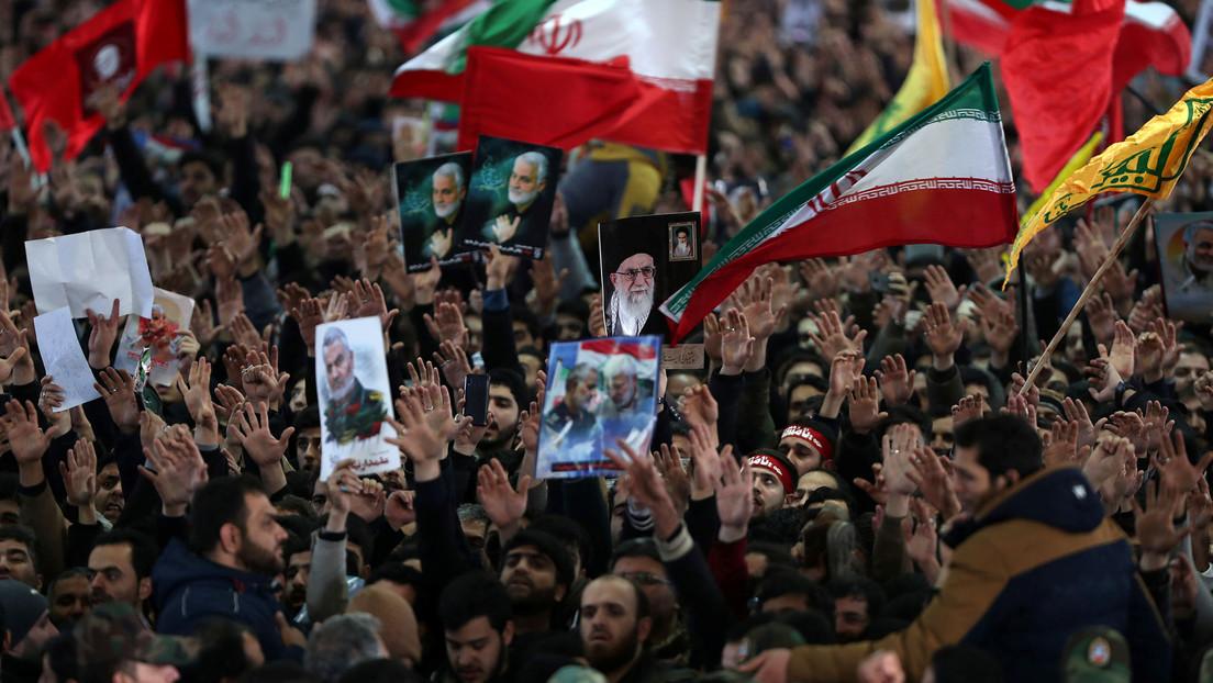 VIDEO: El funeral del general iraní Qassem Soleimani en su ciudad natal