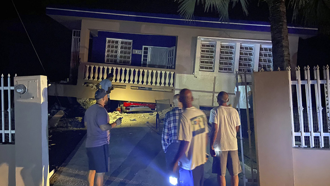 PRIMERAS IMÁGENES: La destrucción causada por un nuevo fuerte sismo en Puerto Rico