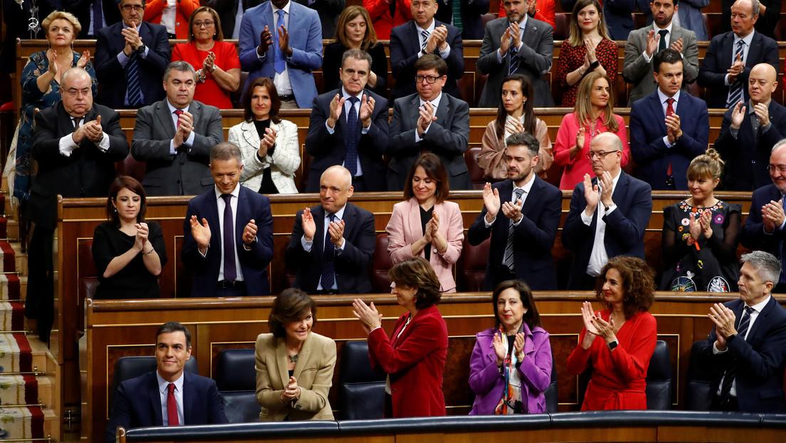 VIDEO: Pedro Sánchez se somete a la votación definitiva en el Congreso de España para su investidura como presidente