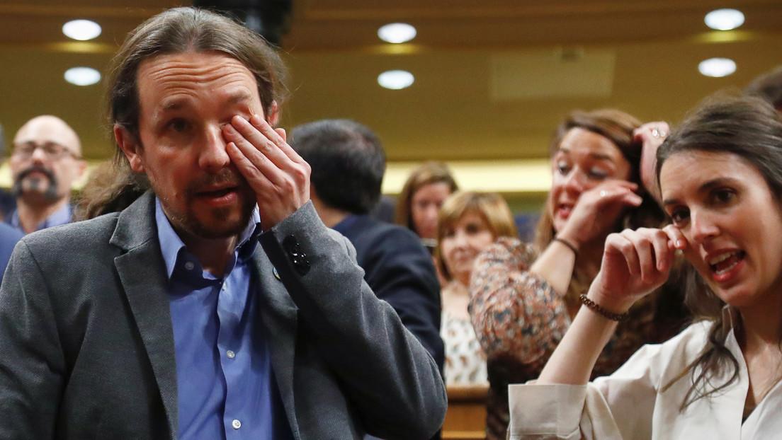 VIDEO: Las lágrimas de Pablo Iglesias tras la investidura de Pedro Sánchez (y su significado)