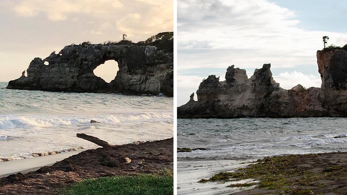 El reciente sismo de Puerto Rico destruyó un famoso punto turístico