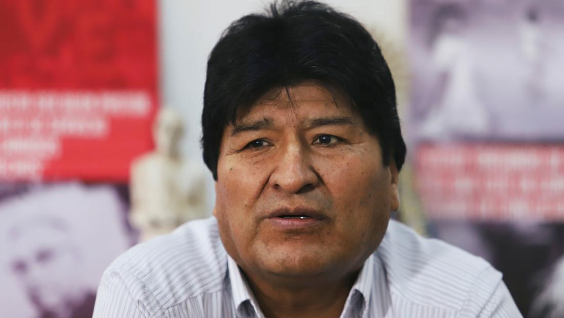 """Morales califica de """"vergüenza"""" que el Gobierno de facto de Bolivia investigue a cinco políticos españoles"""