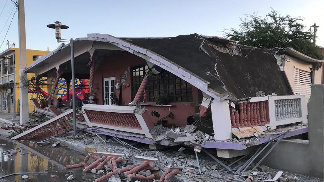 La gobernadora de Puerto Rico declara el estado de emergencia tras los sismos en la isla