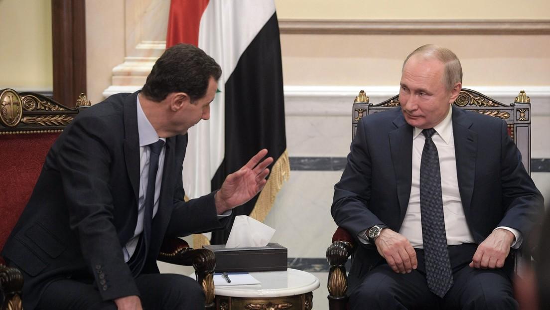 Putin: Las acciones conjuntas de Rusia y Siria permiten eliminar a los terroristas más peligrosos