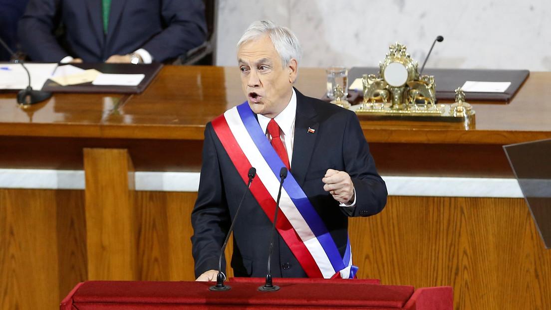 """Piñera advierte que los estudiantes involucrados en las protestas contra los exámenes de admisión universitaria """"serán sancionados por la Justicia"""""""