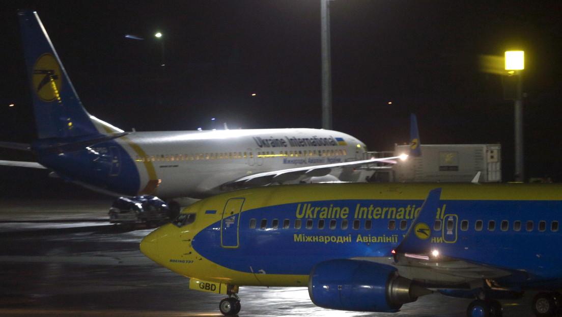 Un Boeing ucraniano con más de 170 personas a bordo se estrella en Irán sin dejar sobreviventes
