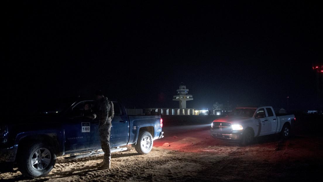 VIDEO: Momento en el que caen misiles iraníes sobre una base iraquí que alberga fuerzas de EE.UU.