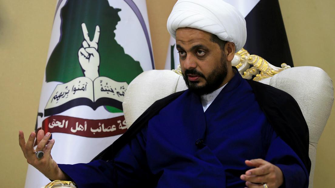 """Líder de milicia iraquí respaldada por Irán promete una """"respuesta"""" al ataque de EE.UU."""
