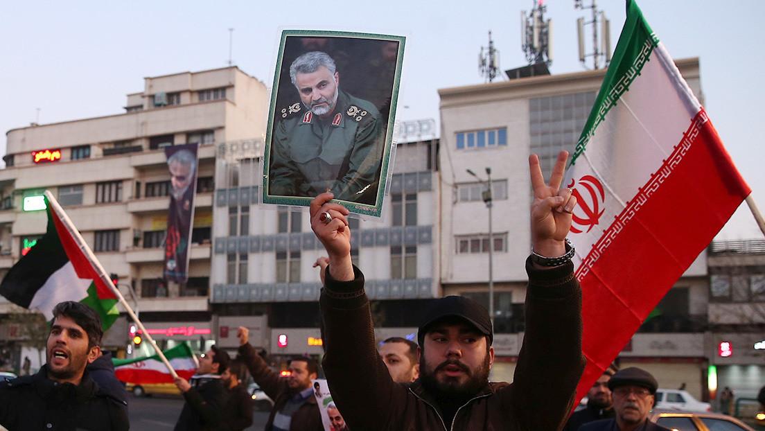 """Irán: Washington puede haber """"cortado la mano"""" del general Soleimani, pero en respuesta EE.UU. perderá """"la pierna"""""""