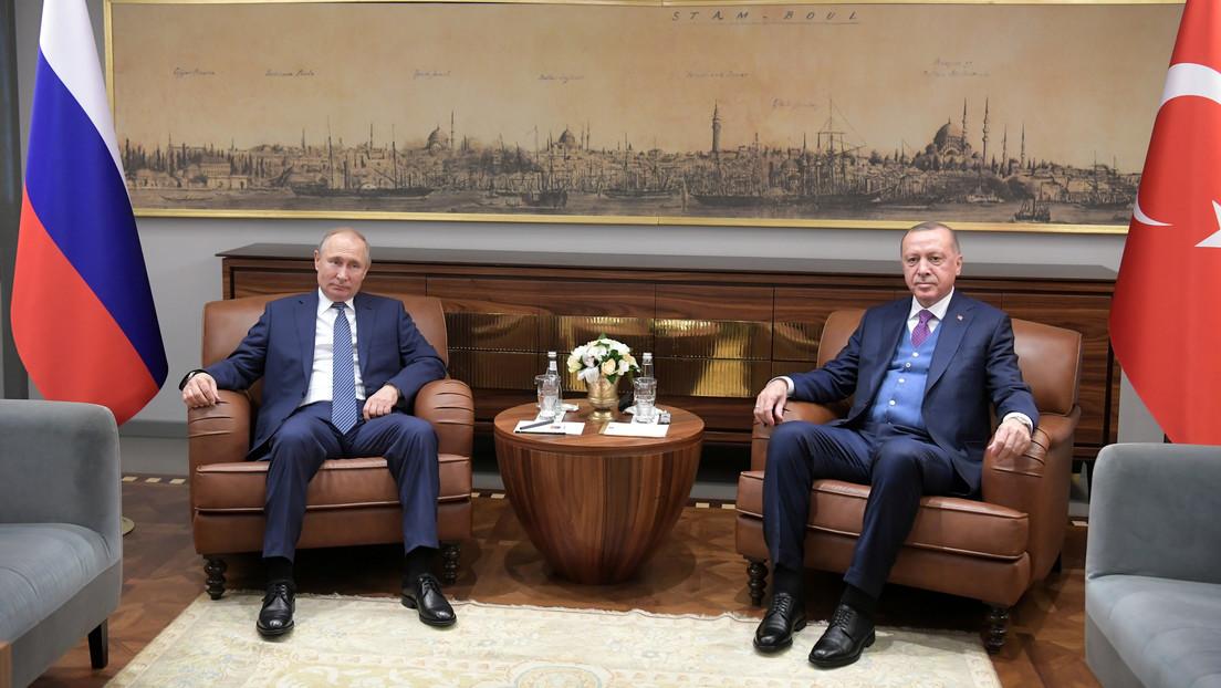 Putin y Erdogan inauguran el gasoducto Turkish Stream
