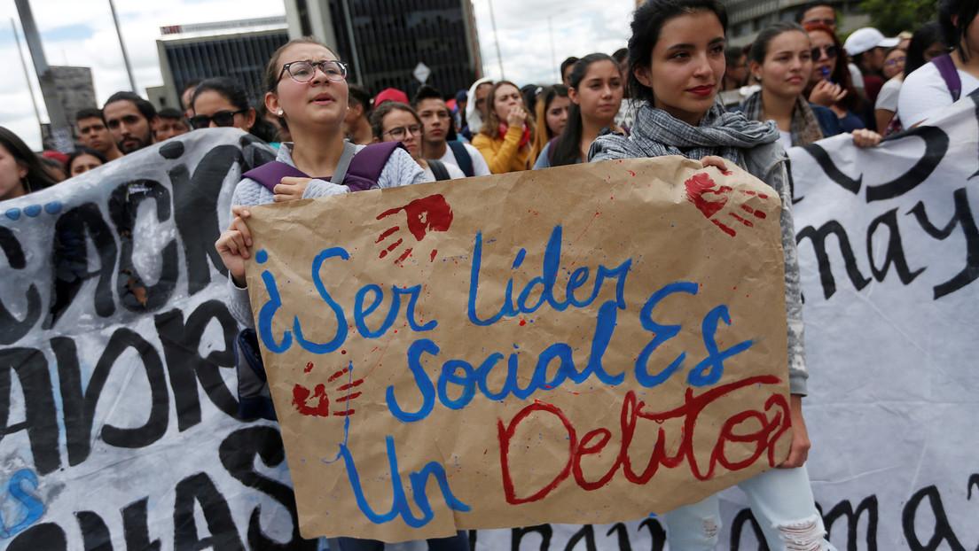 Asesinan a tiros en Colombia a la primera lideresa social de este año