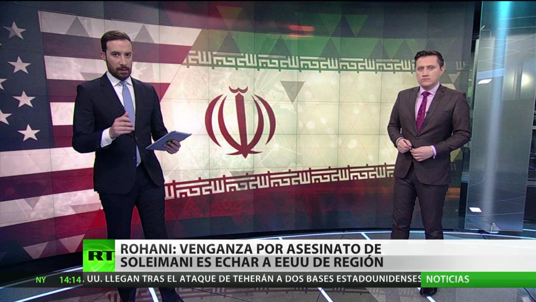 """La venganza de Irán por el asesinato del general Soleimani será """"echar a EE.UU. de la región"""""""